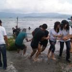 limpieza lago 3